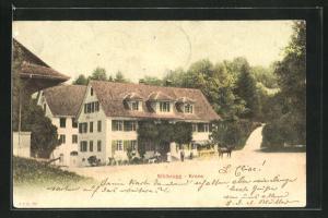 AK Sihlbrugg, Gasthaus Krone