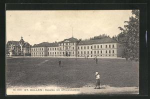 AK St. Gallen, Kaserne mit Offizierskantine