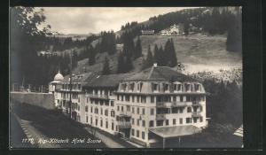 AK Rigi-Klösterli, Ansicht vom Hotel Sonne
