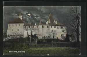 AK Kyburg, Schloss Kyburg bei Nacht