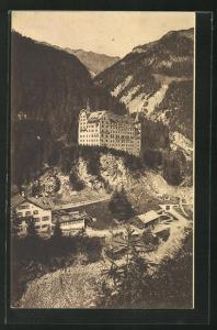 AK Val Sinestra, Blick auf das Hotel Kurhaus