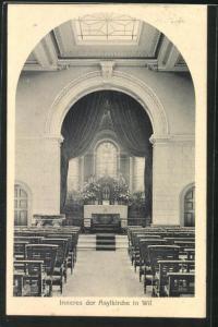 AK Wil, Inneres der Asylkirche