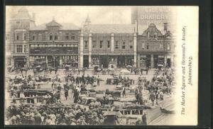 AK Johannesburg, The Market Square and Henwood`s Arcade