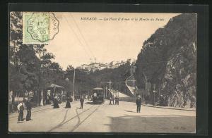 AK Monaco, La Place d`Armes et la Montee du Palais