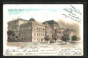 Lithographie Wien, Universität