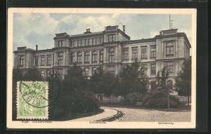 AK Riga, Universität mit Anlagen