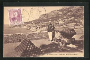 AK Monaco, Les Canons sur la Place du Palais