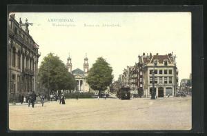 AK Amsterdam, Waterlooplein, Mozes en Aäronkerk