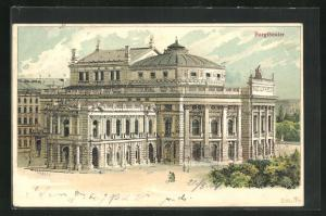 Lithographie Wien, Burgtheater