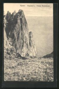 AK Karadag an der Krim, Felsen