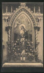 AK Pulkau, Herz Jesu-Altar der Pfarrkirche