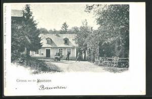 AK Purkersdorf, Blick auf das Gasthaus Baunzen
