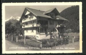AK Schruns, Hotel-Pension Landhaus Schönblick