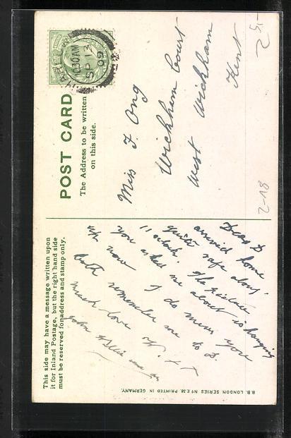 AK Schreibfaul, Tintenfass und Bücher, Volumes of Good Wishes 1