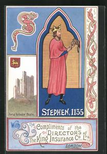 AK London, Directors of the King Insurance Co., Stephen, 1135, Versicherung