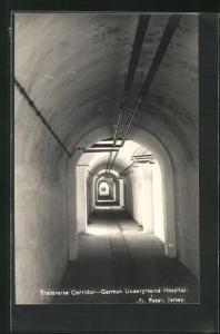 AK Jersey, Transverse Corridor - German Underground Hospital, St. Peter