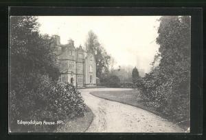 AK Edmondsham, House, Auffahrt zum Anwesen