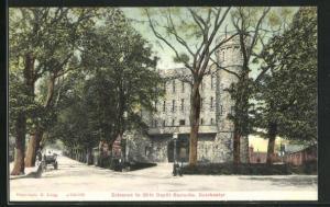 AK Dorchester, Entrance to 39th Depot Barracks