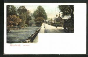 AK Bonchurch, The Pond, Ortspartie