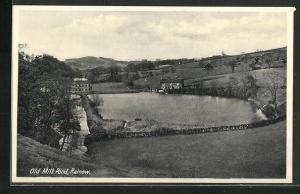 AK Rainow, Old Mill, Panorama mit der alten Mühle