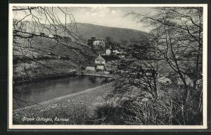 AK Rainow, Brook Cottages, Blick auf den Ort