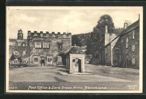 AK Blanchland, Post Office & Lord Crewe Arms, Ortspartie