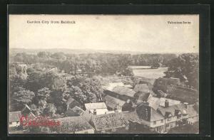 AK Garden City, Blick von Balddock auf Häuser und Umgebung
