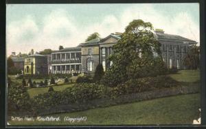 AK Knutsford, Tatton Hall mit Parkanlage