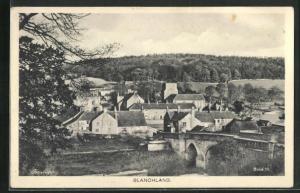 AK Blanchland, Teilansicht auf Steinbrücke, Häuser und Umgebung