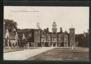 AK Blickling, Hall, Entrance, Auffahrt