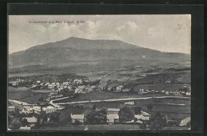 AK Dolwyddelan, Panoramablick vom Berg