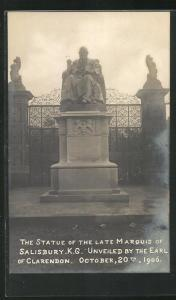 AK Salisbury, the statue of the Late Marquis