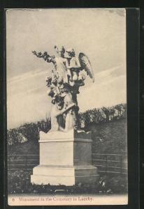 AK Laceby, Monument in the Cementary
