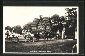 AK Windsor, The Royal Procession Ascot