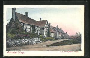 AK Stoneleigh Village, Ansicht vom Ort