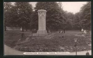 AK Tettenhall, Coronation Memorial Tower