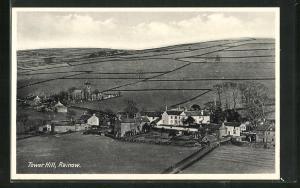 AK Rainow, Tower Hill, Blick auf das Dorf