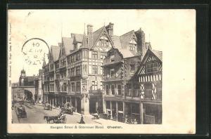 AK Chester, Eastgate Street & Grosvenor Hotel