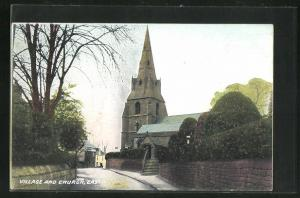 AK Eastham, Village and Church