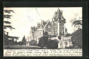 AK Eastbury, Blick auf das Herrenhaus