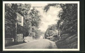 AK Sawbridgeworth, Strassenpartie im Ort