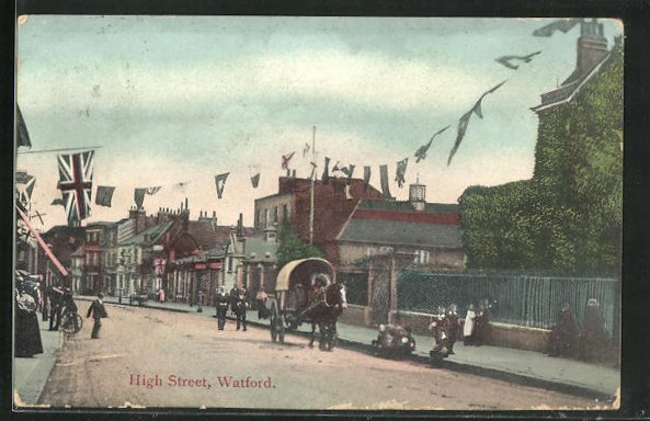 AK Watford, View of High Street 0