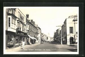 AK Newport, View of High Street
