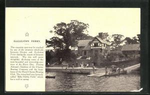 AK Eccleston, Eccleston Ferry, an der Fähre