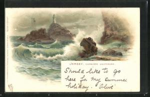 Lithographie Jersey, Corbiere Lighthouse