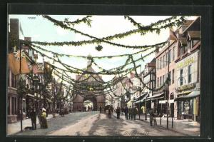 AK Bridgnorth, High Street, Coronation Day