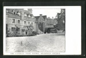 AK Bradfield, Bradfield College, The Gateway from within