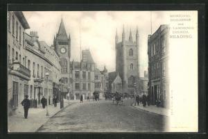 AK Reading, Municipal Buildings and St. Lawrence Church