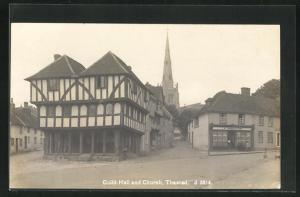 AK Thaxted, Guild-Hall and Church