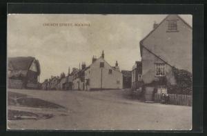 AK Bocking, Church Street, Blick auf Häuser
